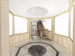 Octagonal reception area